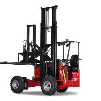 Manitou Launches New Masted Piggyback Forklift